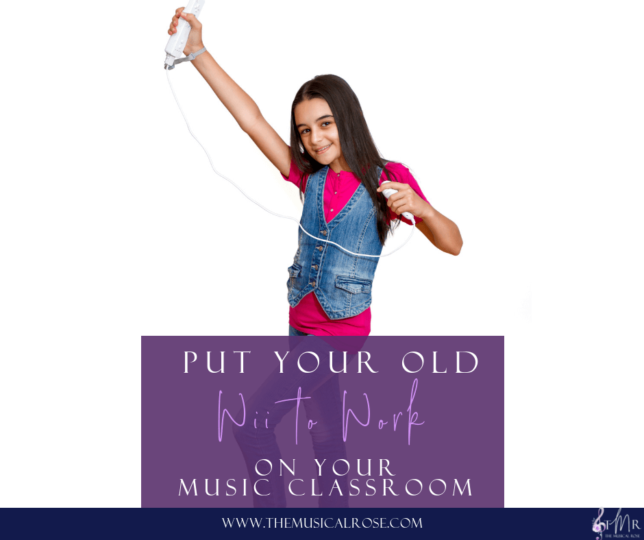 Put Your Old Wii to Work in Your Music Classroom
