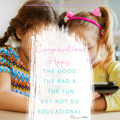 Composition Apps: The Good, The Bad, and The Fun But Not So Educational