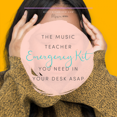 The Music Teacher Emergency Kit You Need in Your Desk ASAP
