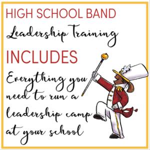 Marching Band Leadership Training Program